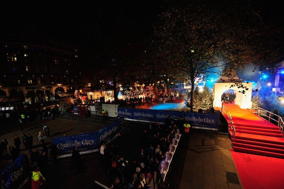 Премьера «Рождественской истории» в Лондоне