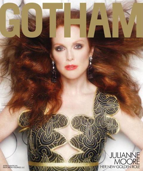 Джулианна Мур в журнале Gotham. Лето 2011