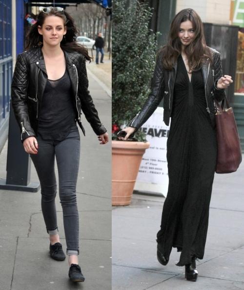 Fashion battle: Кристен Стюарт и  Миранда Керр