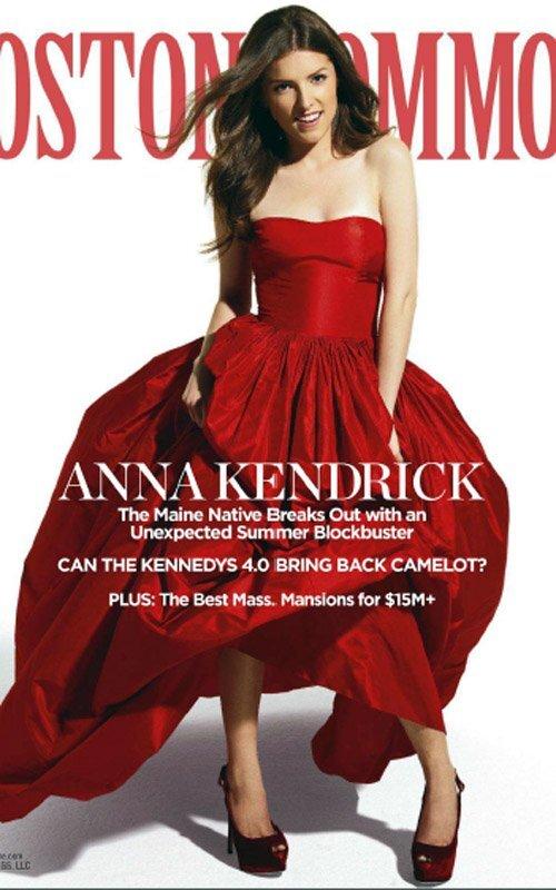 Анна Кендрик в журнале Boston Common. Лето 2012