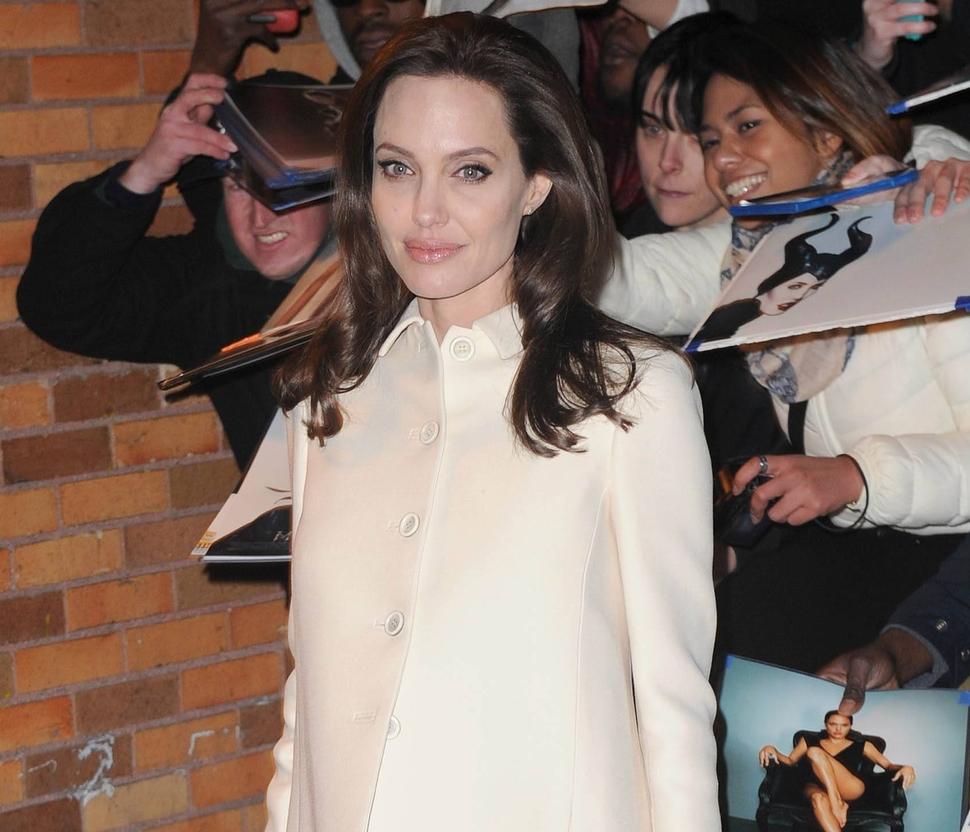 Анджелина Джоли считает брак тяжелой работой