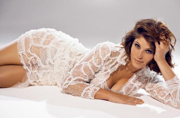 Джемма Артертон в журналах Madame Figaro и ELLE. Франция. Август 2014