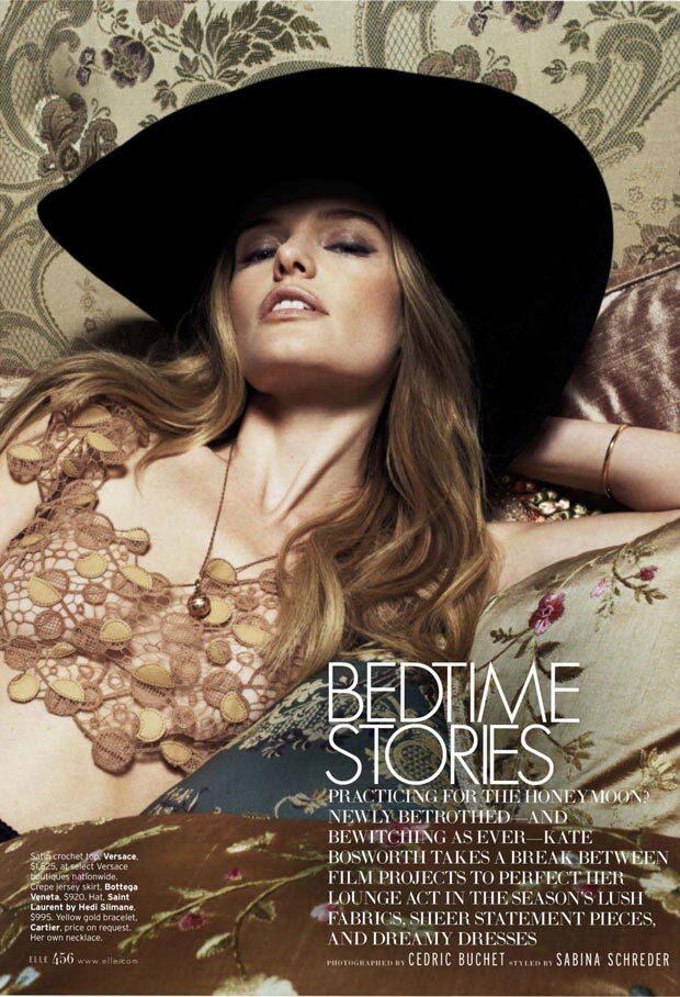 Кейт Босуорт в журнале Elle. Март 2013