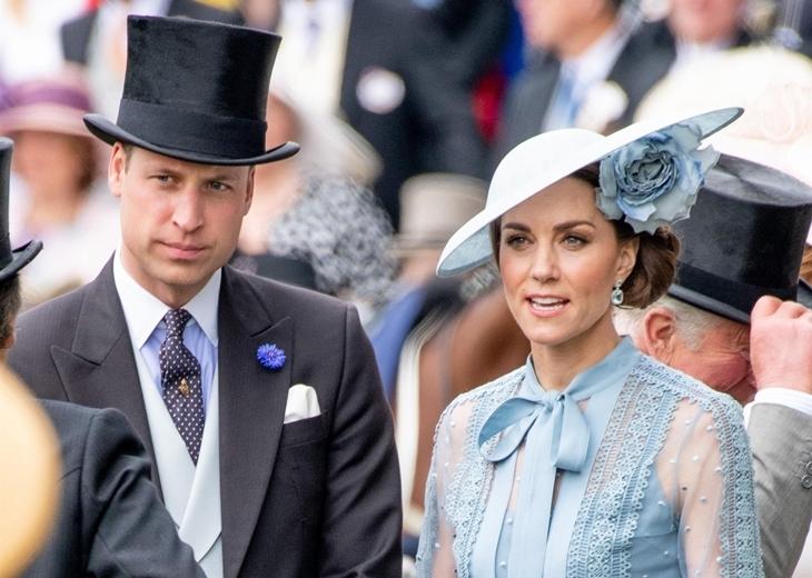 Фото: Кейт Миддлтон, принц Уильям и другие на скачках Royal Ascot