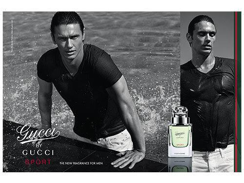 Джеймс Франко в рекламе нового парфюма Gucci