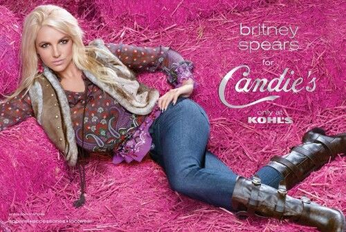 Бритни Спирс снова стала лицом Candie's