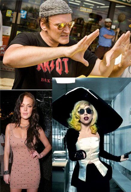 Линдсей Лохан и Lady Gaga вдохновляют Квентина Тарантино