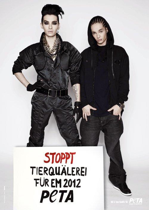 Том и Билл Каулитц хотят защитить животных в Украине