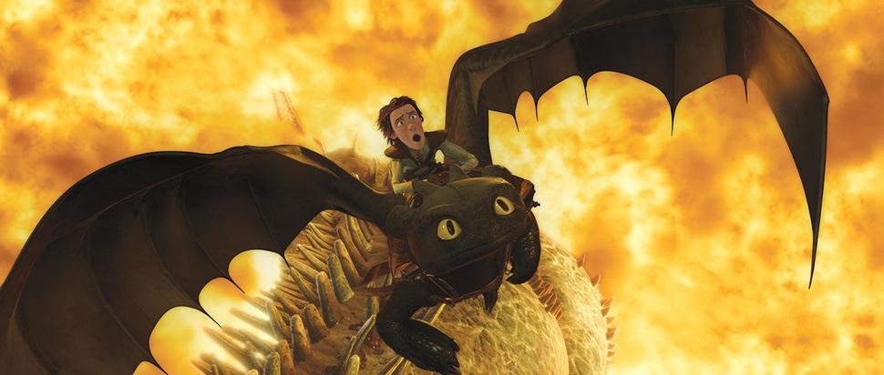 Продолжение «Как приручить дракона» выйдет в 2013 году