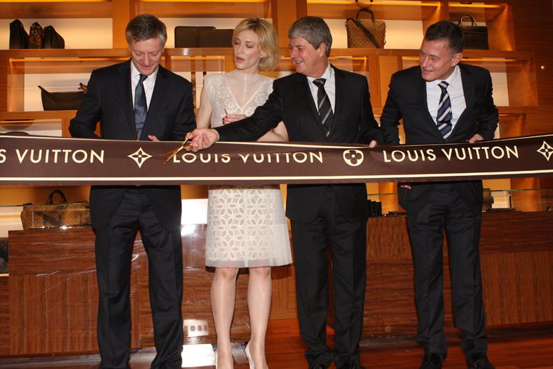 Кейт Бланшетт на открытии бутика Louis Vuitton в Сиднее