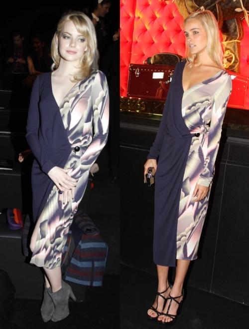 Fashion battle: Эмма Стоун и  Изабель Лукас