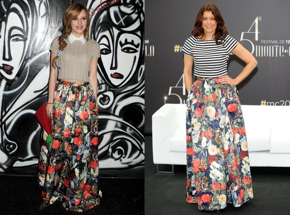 Fashion battle: Белла Торн и Беллами Янг