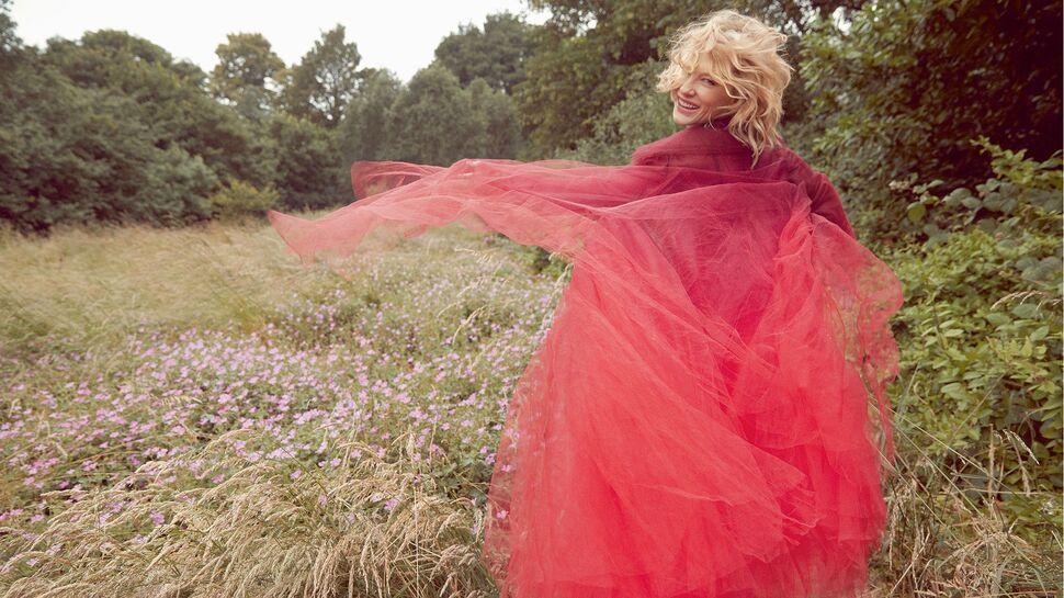 Кейт Бланшетт в фотосессии для октябрьского номера Harper's Bazaar UK