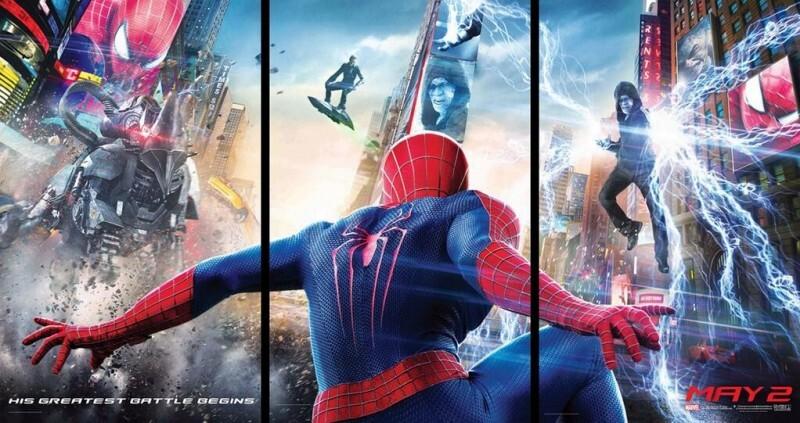 """Трейлер фильма """"Новый Человек-паук: Высокое напряжение"""""""
