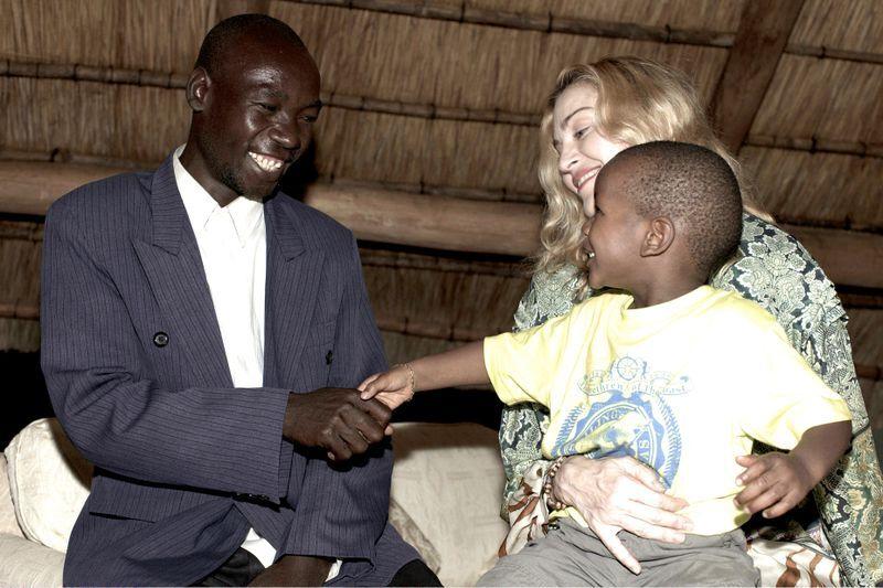 Мадонна навестила родного отца Дэвида