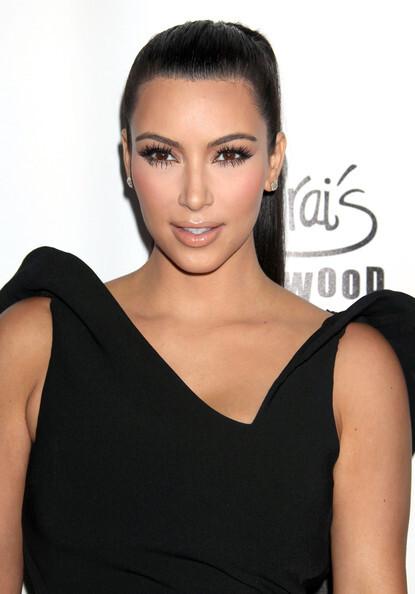 Ким Кардашиан на вечеринке журнала World's Most Beautiful