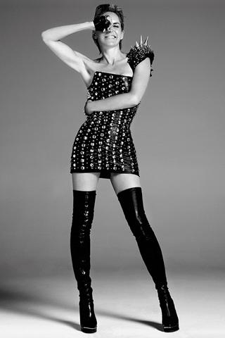 Шэрон Стоун в журнале Vogue Испания. Октябрь 2009