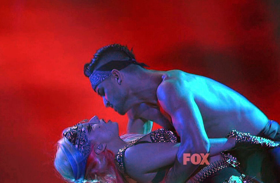 Выступление Lady GaGa на шоу American Idol