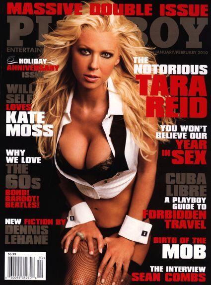 Тара Рид в журнале Playboy. Январь 2010