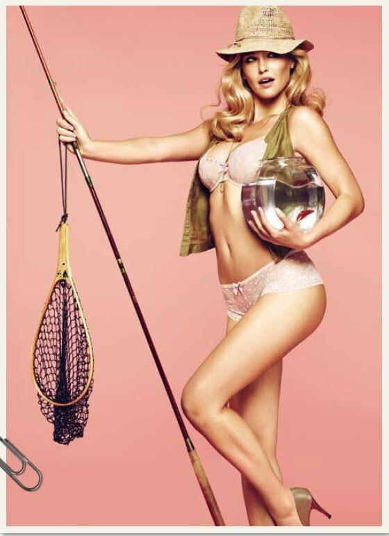 Бар Рафаэли в календаре Passionata 2012