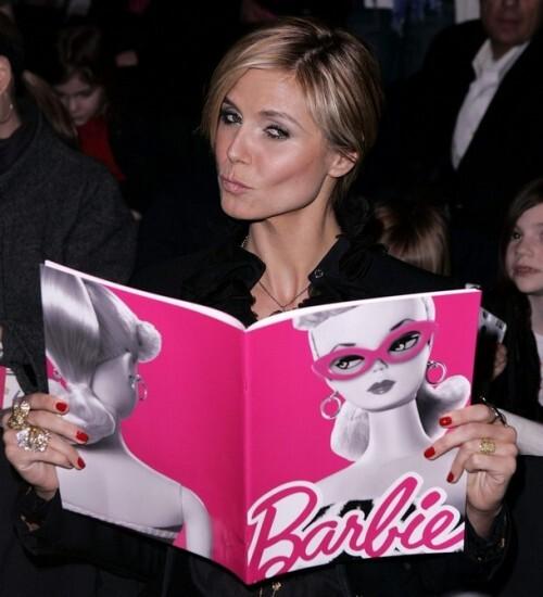 Хайди Клум станет Барби