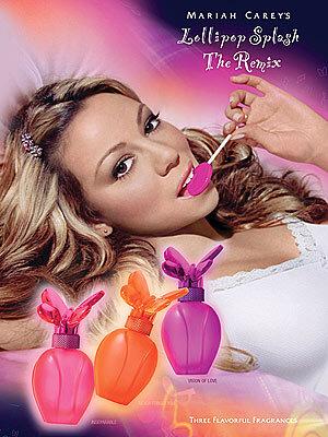 Мэрайя Кэри выпустит три новых аромата из серии Lollipop Splash the Remix