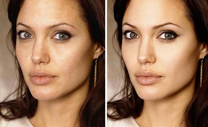 Чудеса фотошопа: знаменитости до и после обработки в глянце
