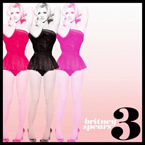 Обложка нового сингла Бритни Спирс «3»