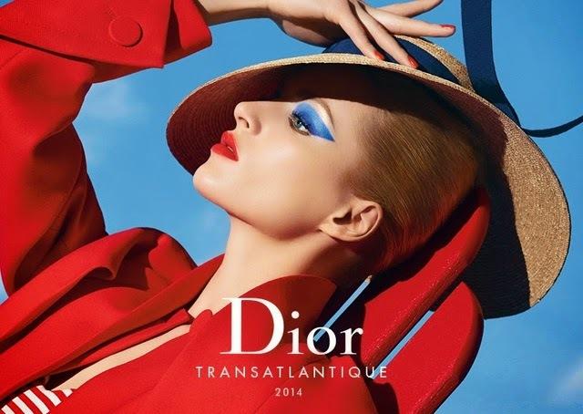 Новая коллекция декоративной косметики Dior Transatlantique. Лето 2014