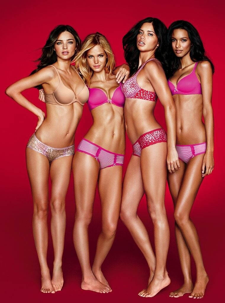 Lookbook новой коллекции Valentine's Day 2012 от Victoria's Secret