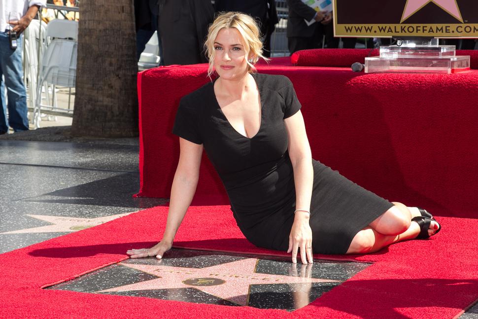 Кейт Уинслет получила звезду на Аллее славы