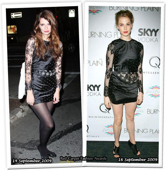 Fashion battle: Миша Бартон и Элеттра Видеманн