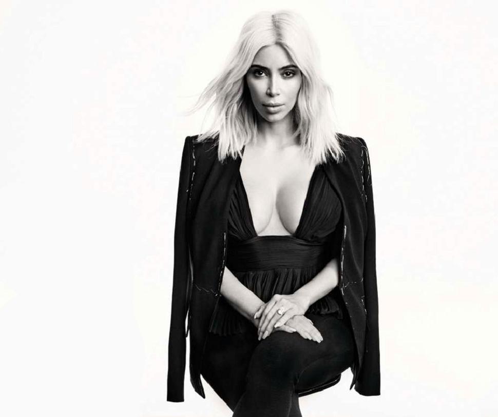 Ким Кардашян в журнале Elle Франция. Апрель 2015