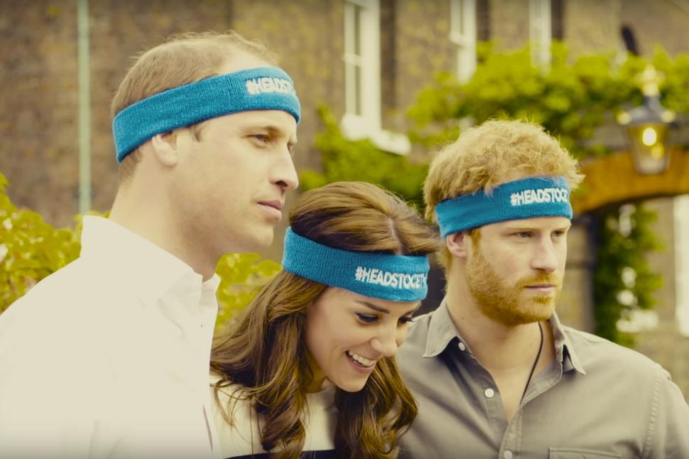 Принц Гарри, принц Уильям и Кейт Миддлтон снялись в социальном ролике о психическом здоровье