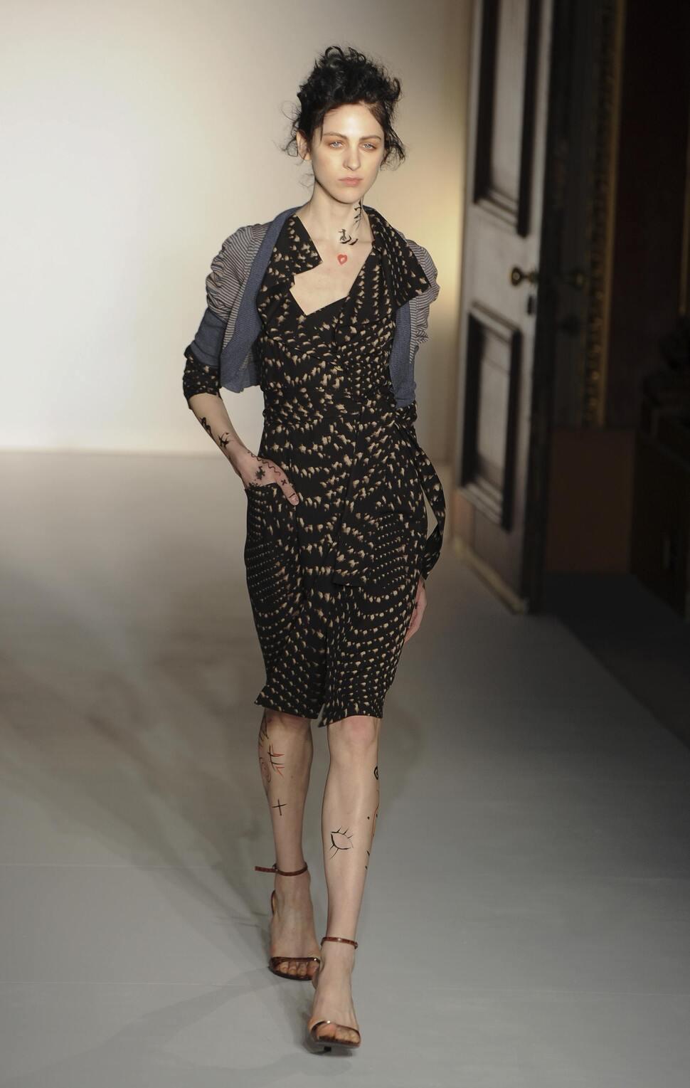 Модный показ Vivienne Westwood. Осень / зима 2012-2013