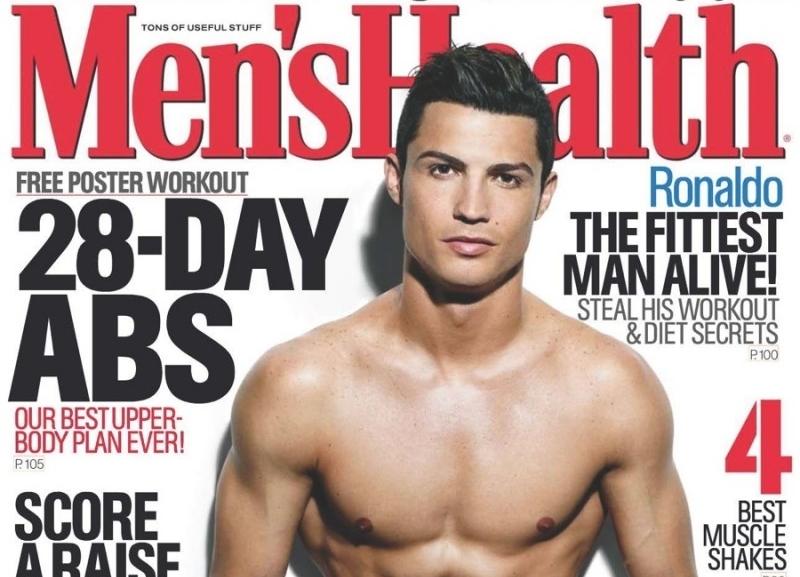 Криштиану Роналду в журнале Men's Health. UK. Сентябрь 2014