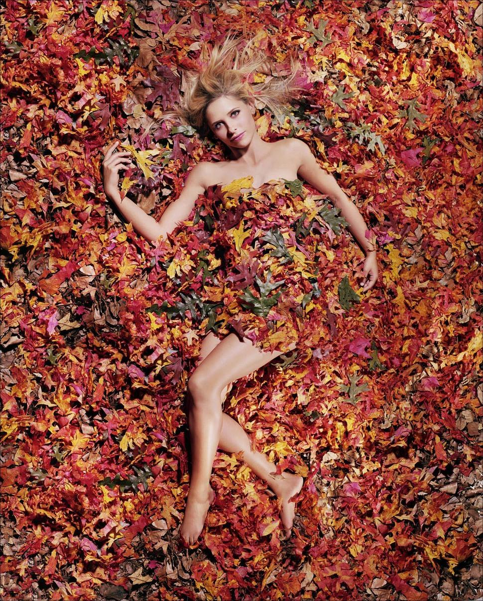 Сара Мишель Геллар для календаря Esquire Calender Girl