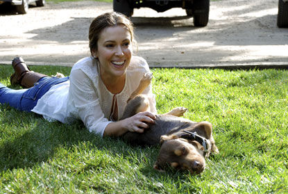 Сердце Алисы Милано тронула Особая собака