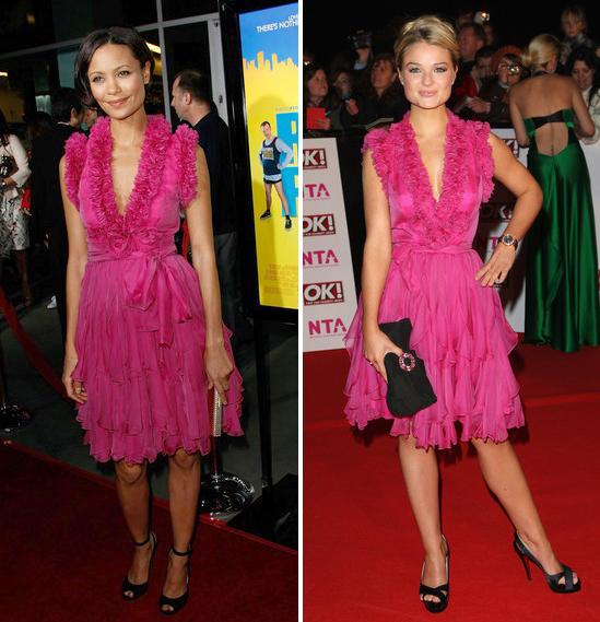 Fashion battle: Тэнди Ньютон и Эмма Ригби
