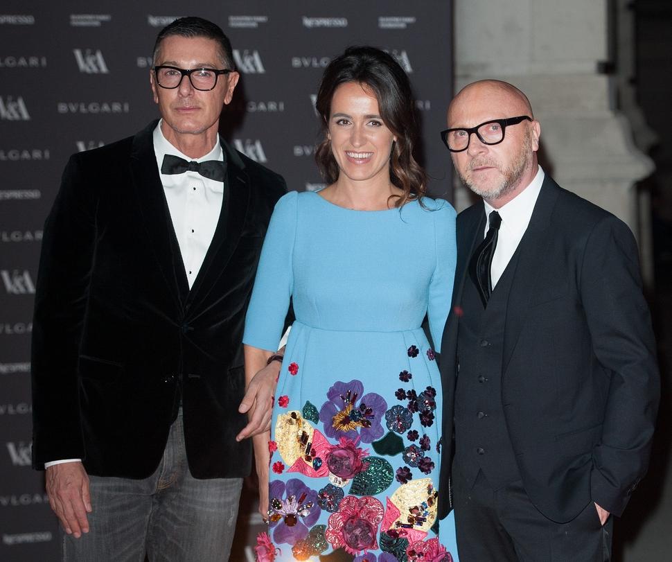 Звезды на открытии выставки The Glamour of Italian Fashion