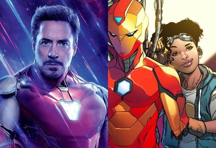 Роберт Дауни-младший выступил за женскую версию Железного Человека в киновселенной Marvel