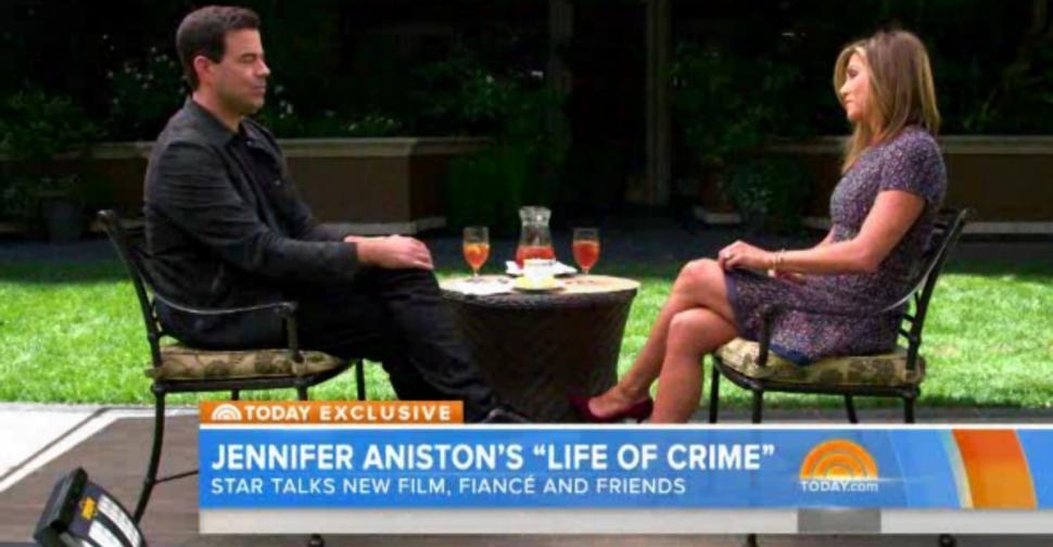 Журналистам запрещено говорить с Дженнифер Энистон о Брэде Питте