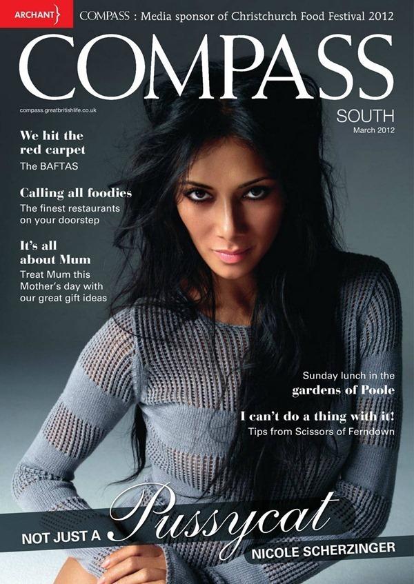 Николь Шерзингер в журнале Compass. Март 2012