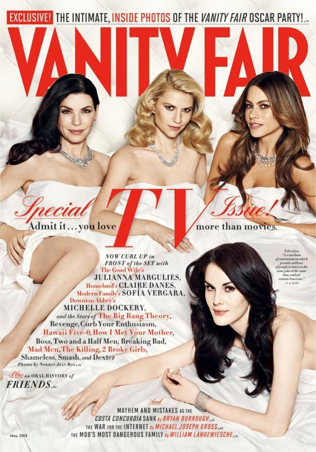 Новый номер Vanity Fair. Май 2012 или «В кровати с …»
