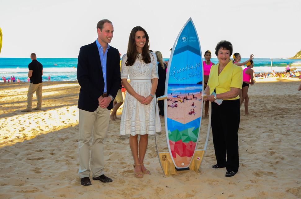 Кейт Миддлтон и принц Уильям продолжают путешествие по Австралии