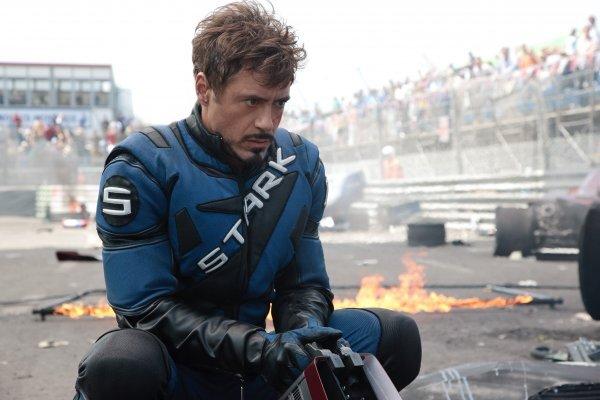 Видео: на съемочной площадке фильма «Железный человек 2»