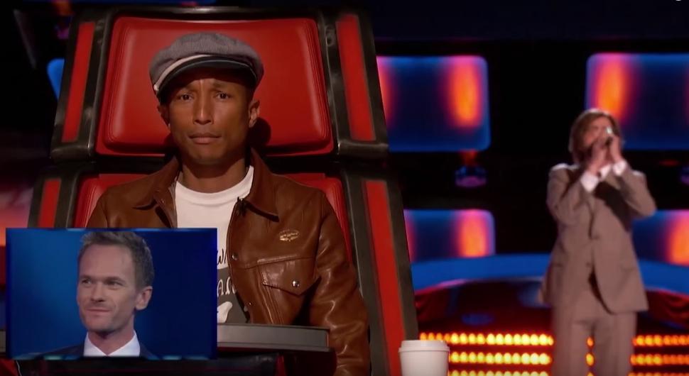 Видео: Нил Патрик Харрис разыграл судей шоу The Voice
