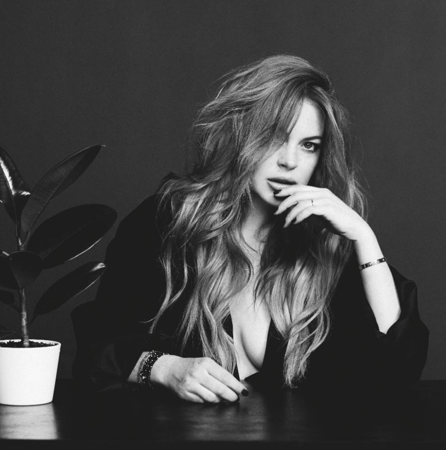 Линдси Лохан в журнале Wonderland. Сентябрь / октябрь 2014