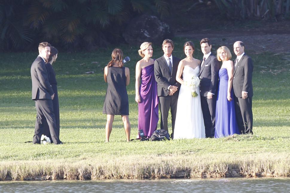 Джастин Барта женился