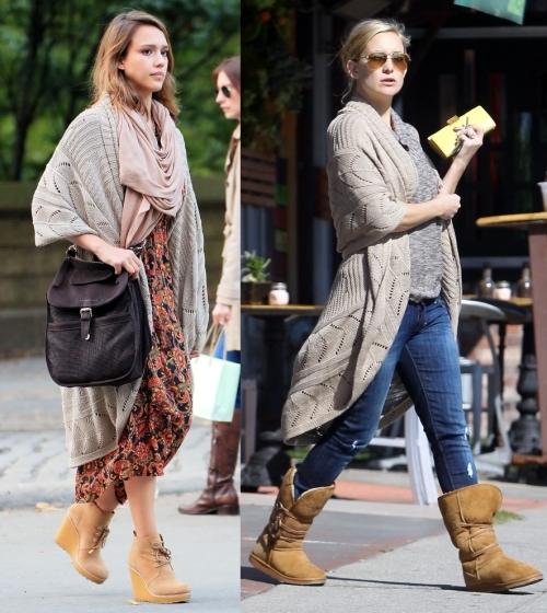 Fashion battle:  Джессика Альба и Кейт Хадсон